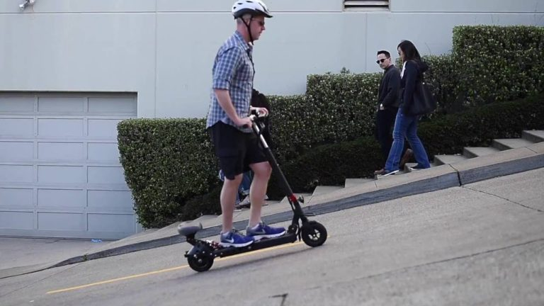 Can electric scooters go up hills?