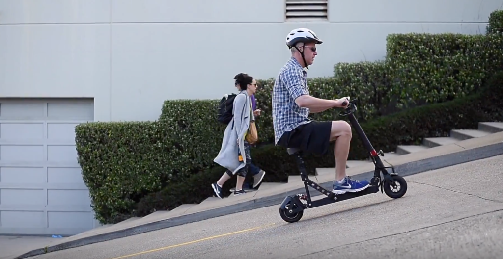 can electric scooters go uphill?