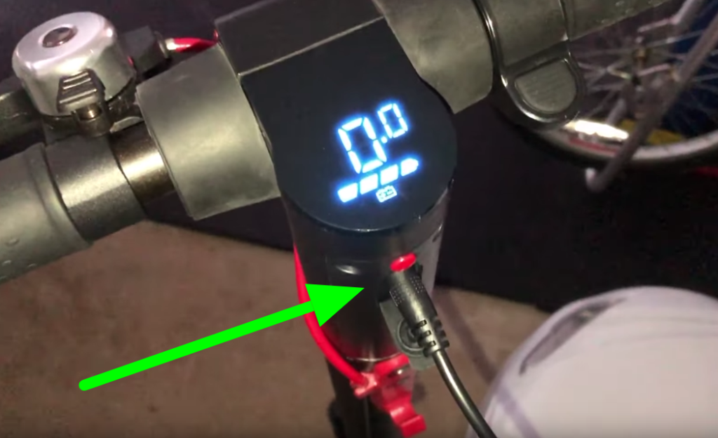 How do I charge my GoTrax scooter?