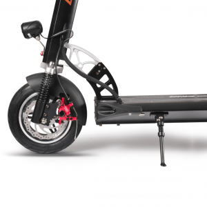 Emove Cruiser review - Front Suspension