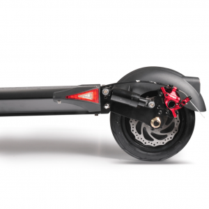 Emove Cruiser review - rear suspension and disk brakes