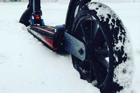 Electric Scooter 6 Winter Tips