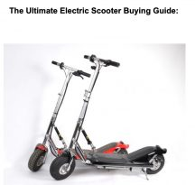 electric scooter buying guide