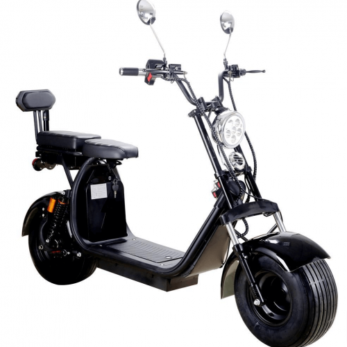MotoTec Knockout 60V 2000W Fat Tire Electric Scooter