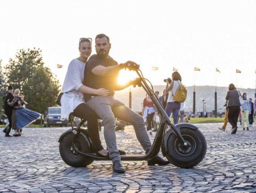 2 adults can fit on a fat tire scooter