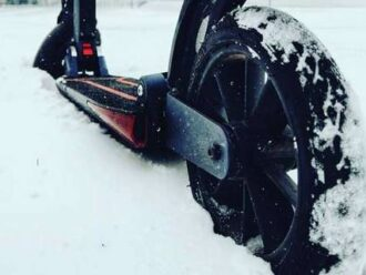 electric scooter winter tips