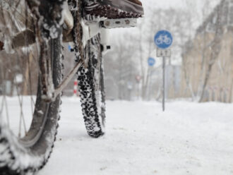 Can you ride an e-bike in the winter