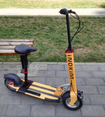 Best electric scooter with a seat